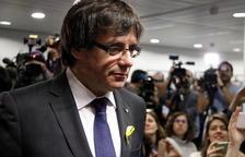 Puigdemont diu que «ara no és possible» tornar a Catalunya perquè hi ha «una amenaça» per «impedir» la seva investidura