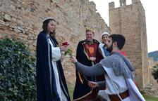 La Setmana Medieval ja té el Sant Jordi i la Princesa
