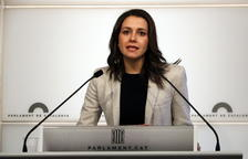 Arrimadas diu que Torrrent «comença amb mal peu» proposant Puigdemont com a president
