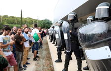 Guàrdies Civils demanen que Catalunya sigui 'zona de conflicte' arran de l'1-O