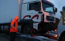 Xarxa Vendrellenca denúncia l'incompliment de l'acord per treure els camions de l'N-340
