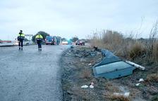 L'Arboç es concentra per rebutjar les morts a la carretera N-340