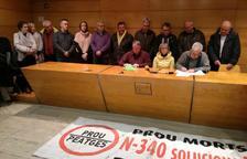 Els alcaldes del Pacte de Berà tenen «dubtes» sobre la voluntat de Foment de treure els camions de l'N-340