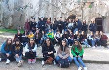 Alumnes de l'INS Baix Penedès trepitgen el bressol de la democràcia