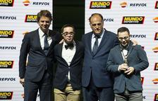Els capitans del Nàstic Genuine, premiats al Trofeu Mundo Deportivo