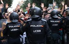 El govern espanyol rebaixa la xifra d'agents ferits l'1-O de 431 a 111