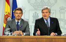 El gobierno español «no consentirá de ninguna manera» una investidura simbólica de Puigdemont