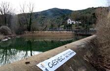 Els ecologistes exigeixen clausurar el transvasament del riu Siurana al pantà de Riudecanyes