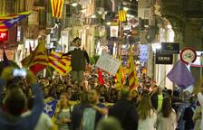 L'1-O i l'aplicació del 155 van triplicar les manifestacions a Reus
