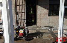 S'incendien unes oficines a Cambrils