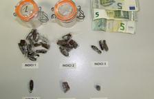 Detenen 'in fraganti' un jove venent droga a Montblanc