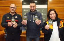 Protecció Civil del Vendrell se suma a la campanya 'Pels valents' contra el càncer infantil