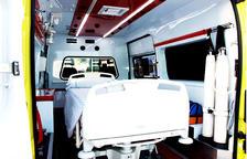 El volumen de un paciente del Morell obliga a movilizar una ambulancia especial