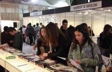 El 'Espai de l'Estudiant' de Valls muestra la oferta formativa con 53 stands