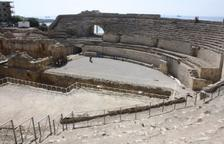 Una escala provisional facilitarà l'accés a l'arena de l'Amfiteatre