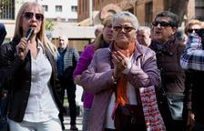 Los jubilados y pensionistas de Tarragona se concentran por «unas pensiones dignas»