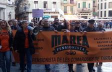 La marea pensionista es manifesta a Tarragona i Reus