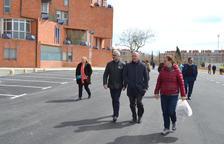El barrio Gaudí estrena aparcamiento y zona de recreo para perros