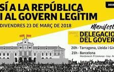 L'ANC convoca una manifestación para esta tarde en apoyo a la «república y al gobierno legítimo»