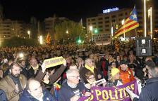 Unas 4.000 personas claman contra la «represión» del Estado y por la libertad de los «presos políticos» en Tarragona