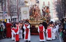 La Processó del Dolor i cinc misteris porten l'emoció als carrers de la ciutat