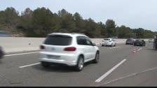 Retencions a l'AP-7 a Roda de Berà per un accident amb quatre vehicle implicats