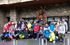 Una trentena de participants a la segona edició de l'Esquiada Jove del TRAC