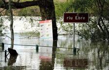 La crescuda del riu Ebre provoca les primeres inundacions prop de Saragossa