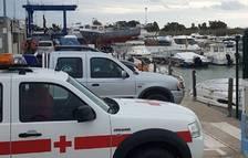 Suspenen la recerca aèria i marítima del pescador desaparegut diumenge a la desembocadura de l'Ebre