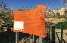 La Canonja estrena un parc per a gossos