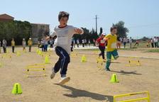 Els escolars de Vila-seca celebren els Mini Jocs Mediterranis