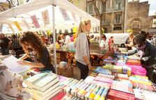 Llibreries de Tarragona es queixen que els han reduït l'espai de les parades de Sant Jordi