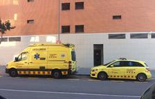 Dues persones intoxicades en un incendi a L'Albada