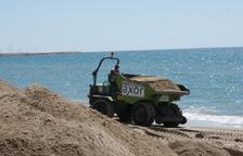 Calafell posa a punt les seves platges