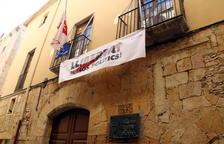Els Xiquets de Tarragona, abocats a assajar al carrer després de tancar el seu local per seguretat