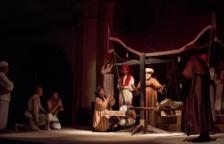El Ball Parlat del Sant Crist de Salomó fa el ple en la primera funció