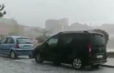 Una tempesta de calamarsa cau a Sarral