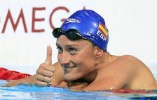 Mireia Belmonte serà l'abanderada de l'equip espanyol a la inauguració dels Jocs