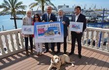 El cupó de l'ONCE dels Jocs Mediterranis ja és a la venda