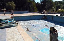 La piscina de Mas Romeu podrà obrir aquest estiu