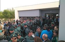 L'1-O la Guàrdia Civil va actuar en «legítima defensa», segons el cap de l'operatiu al Bages
