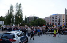 Més d'un miler de persones es concentren a Tarragona per exigir l'aixecament del 155