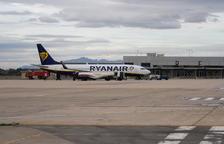 Cancel·lacions i retards a l'Aeroport de Reus per la vaga de controladors francesos