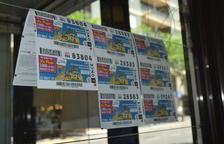 Els venedors de l'ONCE, desbordats per la demanda de cupons dels Jocs Mediterranis