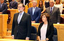 El bloqueig del govern espanyol deixa en l'aire la presa de possessió dels consellers de Torra