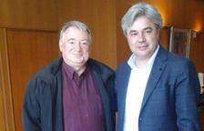 L'alcalde de l'Arboç es reuneix amb el subdelegat del govern per tractar la problemàtica de l'N-340