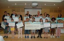 El Col·legi Sant Rafael de la Selva rep el premi del 34 Concurs Escolar de la ONCE