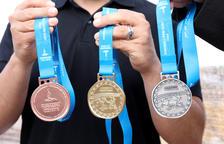 Les medalles dels Jocs Mediterranis «retornaran» els atletes a l'arena romana