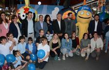 Quatre grans Tarracvs promocionaran els Jocs per la ciutat