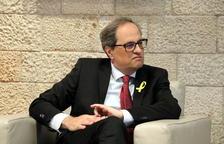 El president Torra assistirà a la concentració de rebuig al rei Felip VI de l'ANC de Tarragona